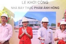 Chính thức khởi công dự án nhà máy thực phẩm Ánh Hồng hơn 65 tỷ đồng.