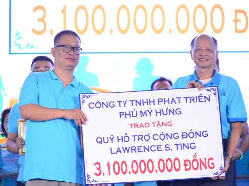 Phú Mỹ Hưng tổ chức quyên góp hơn ba tỷ đồng cho người nghèo