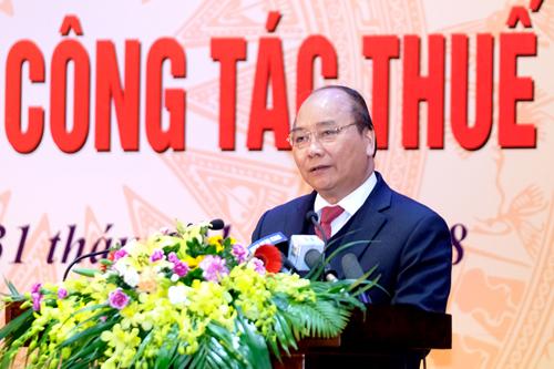 Thủ tướng: Ngành thuế cần dẹp ngay tình trạng 'phí bôi trơn'