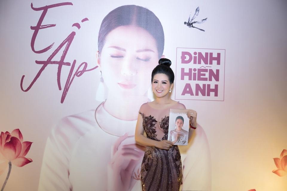 """Hoa hậu, Ca sĩ Đinh Hiền Anh ra mắt dự án khủng """"E ấp"""""""