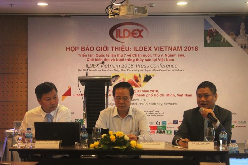 Nhiều cơ hội cho ngành chăn nuôi tại ILDEX Vietnam 2018