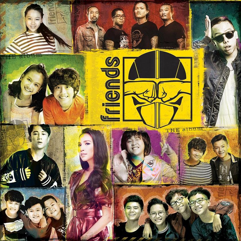 """Ra mắt album """"Friends"""", âm nhạc dành cho lứa tuổi 8-16"""