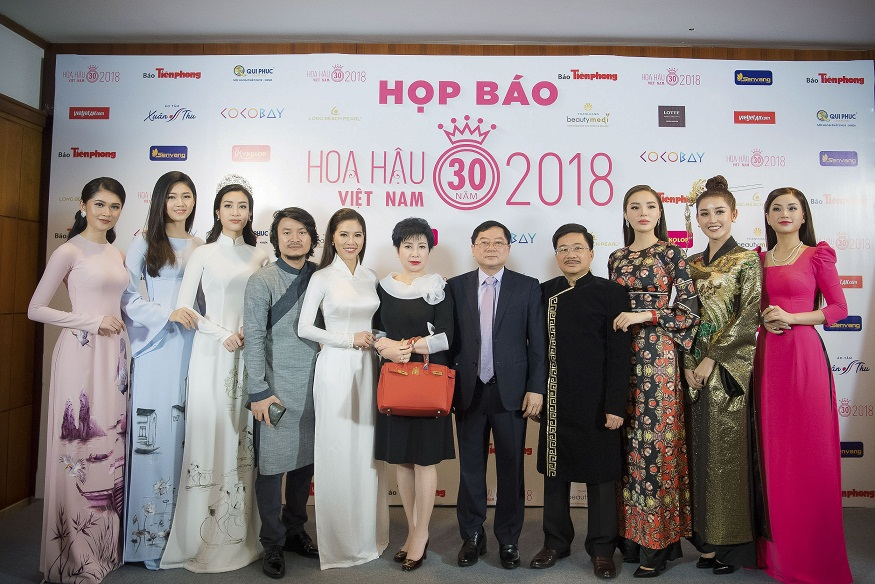 Khởi động cuộc thi Hoa hậu Việt Nam 2018 – Dấu ấn 30 năm Hoa hậu Việt Nam