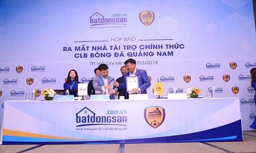 Ra mắt nhà tài trợ chính của  CLB bóng đá Quảng Nam