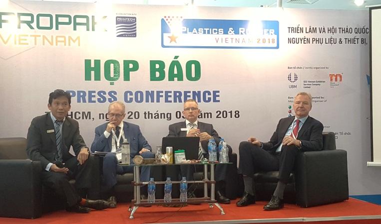 TP.HCM: Khai mạc triển lãm ProPak Vietnam 2018 và Plastics & Rubber Vietnam 2018