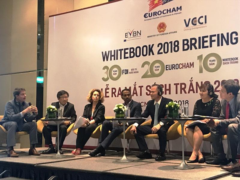 Các doanh nghiệp Châu Âu đánh giá cao môi trường đầu tư và tiềm năng phát triển của Việt Nam