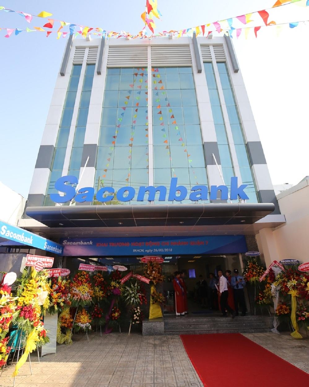 Sacombank khánh thành trụ sở mới chi nhánh quận 7, TP HCM