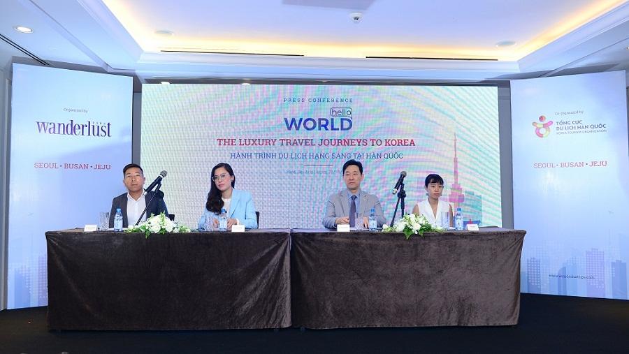 Hello World, hành trình du lịch hạng sang tại Hàn Quốc