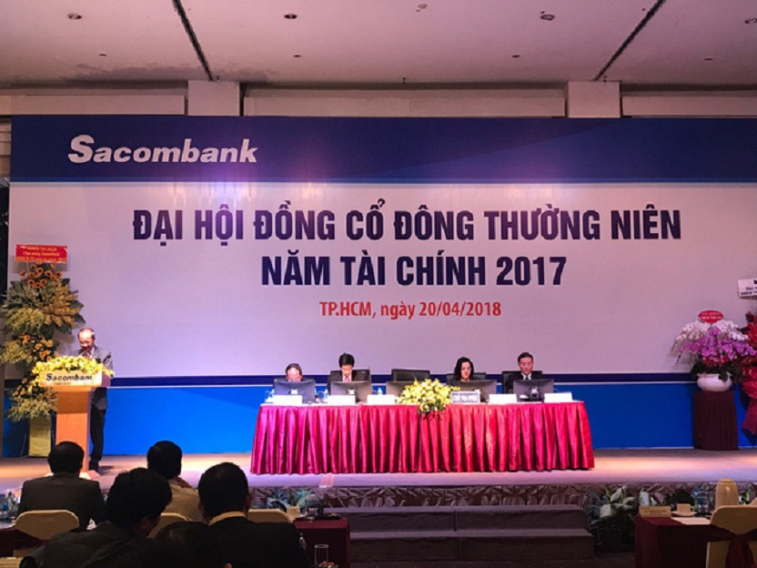 Sacombank tổ chức đại hội cổ đông thường niên 2018