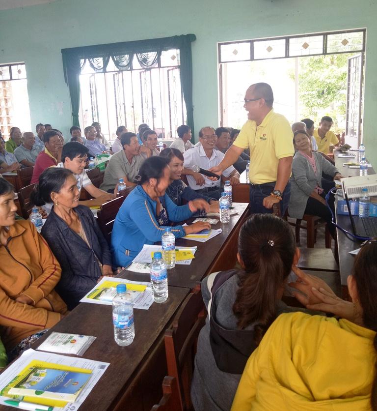 Bình Định: Nông dân phấn khởi tin dùng Đạm Cà Mau