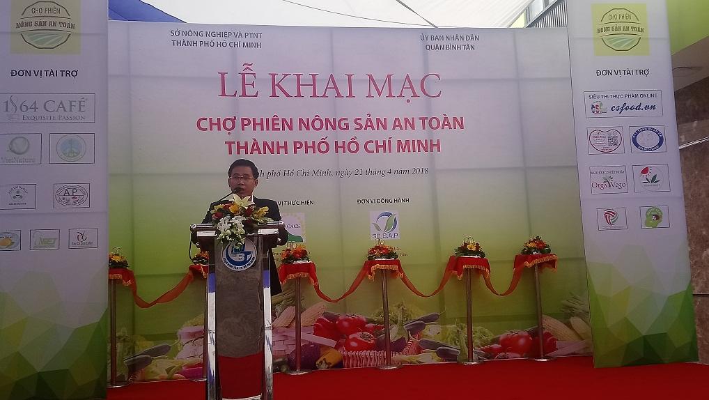 Khai mạc chợ phiên nông sản an toàn TP.HCM – Quận Bình Tân