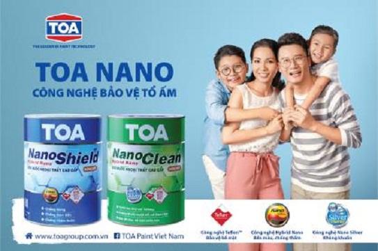 Công ty sơn Toa ra mắt bộ đôi sản phẩm TOA NanoShield và TOA NanoClean