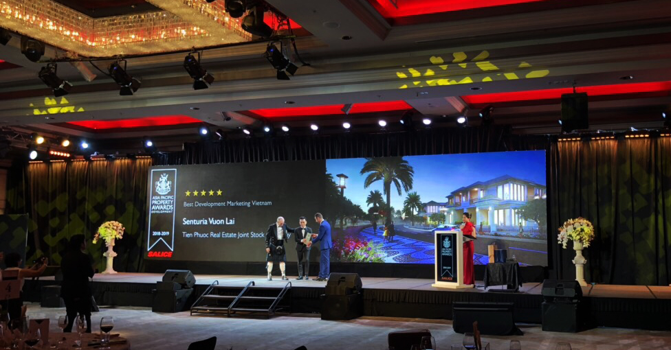 """Công ty Tiến  Phước giành giải thưởng """"Truyền thông tiếp thị xuất sắc nhất Việt Nam"""" của Asia Pacific Property Awards 2018"""