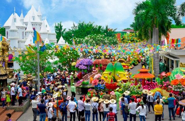 Lễ hội Trái cây Nam bộ lần thứ 14 năm 2018 tại TP Hồ Chí Minh