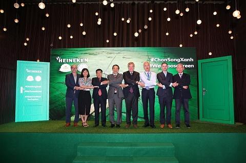 HEINEKEN Việt Nam Chọn Sống Xanh và tiếp tục vị thế dẫn đầu về phát triển bền vững