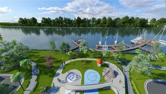 Trần Anh Riverside: Không gian xanh trong lòng đô thị