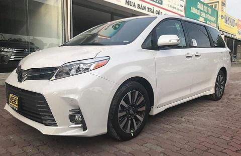 Toyota Sienna 2018 về Việt Nam - xe gia đình giá hơn 4 tỷ đồng