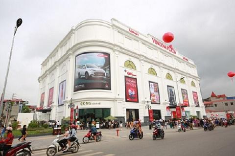 Thái Nguyên có trung tâm thương mại Vincom đầu tiên