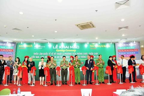 TP. Hồ Chí Minh: triển lãm PCCC thu hút hơn 300 đơn vị tham gia.