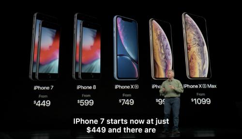 iPhone 7 giảm giá, iPhone X và 6s bị Apple 'khai tử'