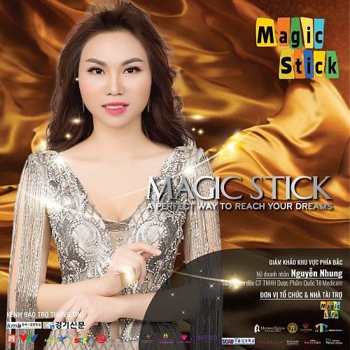 Nữ doanh nhân Nguyễn Nhung: Sẵn sàng góp sức tạo nên thành công cho Magic Stick