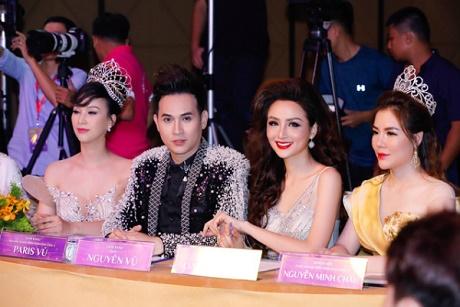 Nguyên Vũ, hoa hậu Diễm Hương ngồi 'ghế nóng' cuộc thi sắc đẹp tại Malaysia