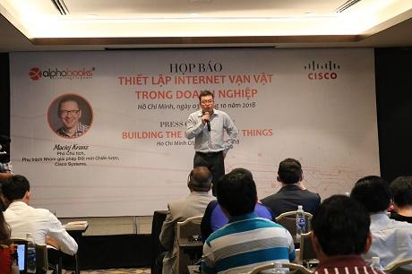 Alpha Books ra mắt bản tiếng Việt của cuốn sách: Internet vạn vật trong doanh nghiệp