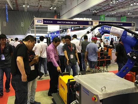 Sắp diễn ra Triển lãm Quốc tế máy móc thiết bị, nguyên phụ liệu và sản phẩm công nghiệp Việt Nam lần thứ 13 – VINAMAC EXPO 2018