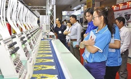 Triển lãm quốc tế thiết bị và công nghệ In Thêu Dệt May tại Việt Nam VIETNAM TEXPRINT 2018 diễn ra từ ngày 28/11