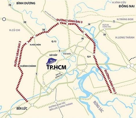 TPHCM kiến nghị Chính phủ triển khai dự án đường Vành đai 3