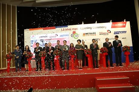 TPHCM: Triển lãm Metalex Vietnam 2018 thu hút 500 thương hiệu đến từ 25 quốc gia