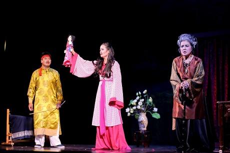 Biểu diễn giao lưu của sân khấu Lệ Ngọc tại TP Hồ Chí Minh