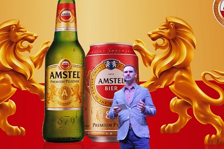 Bia Amstel – Thành viên mới của Heineken Việt Nam gia nhập thị trường.