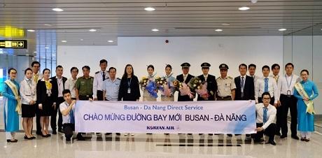 Sau Incheon, Korean Air mở thêm đường bay trực tiếp Busan - Đà Nẵng