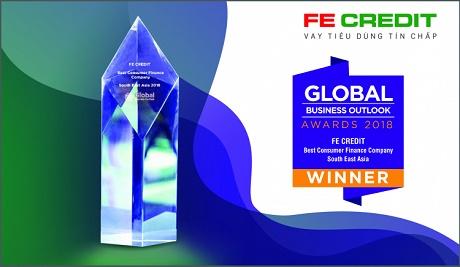 FE Credit được đánh giá là Công ty tài chính tiêu dùng tốt nhất Đông Nam Á 2018