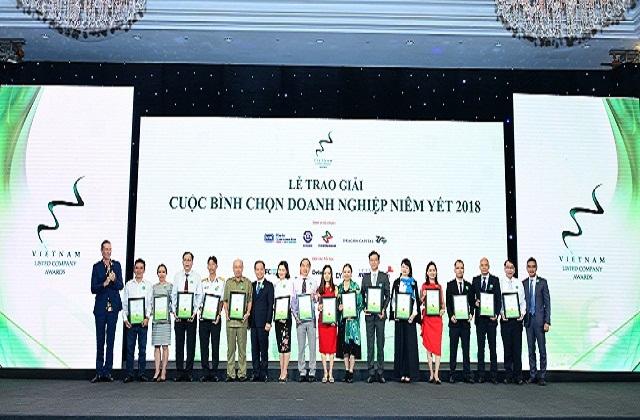 Lễ trao giải Cuộc bình chọn Doanh nghiệp niêm yết năm 2018