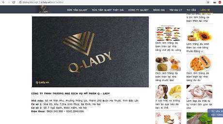 Mỹ phẩm Q-LADY, sự thật nào cho người tiêu dùng?