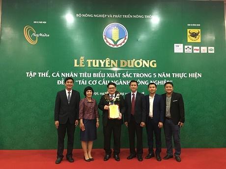 C.P. Việt Nam nhận giải thưởng cao quý Doanh nghiệp vì nhà nông