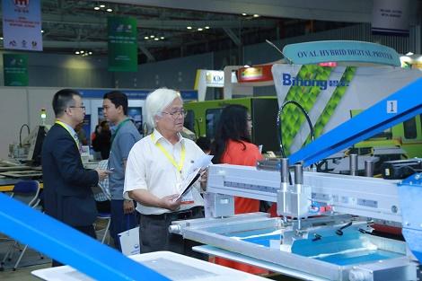 Khai mạc triển lãm quốc thiết bị và công nghệ In Thêu dệt may lần thứ 4 - VIETNAM TEXPRINT 2018