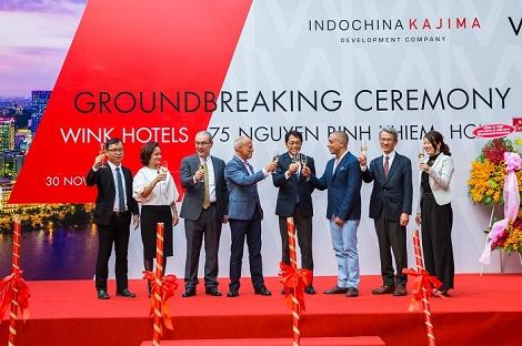 Khởi công xây dựng khách sạn Wínk đầu tiên trong chuỗi 20 khách sạn tại Việt Nam