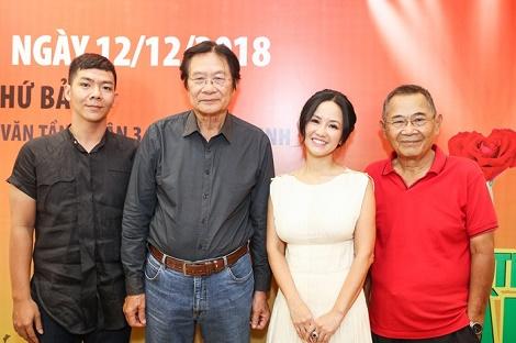 """Nhạc sĩ Dương Thụ, Diva Hồng Nhung nóng lòng gặp lại khán giả Sài Gòn qua Live Concert """"Cửa sổ âm nhạc 4"""""""