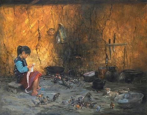 """Họa sĩ Bùi Văn Tuất: """"Tuổi thơ như thế"""" đã hiện thực hóa ước mơ của tôi"""