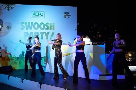Dạ tiệc Giáng Sinh phong cách Nike - Swoosh Party lần đầu tiên tổ chức tại Việt Nam
