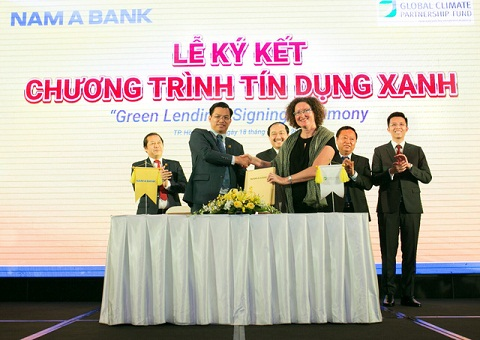 """Nam A Bank công bố dự án cộng đồng """"Tôi chọn sống xanh"""""""