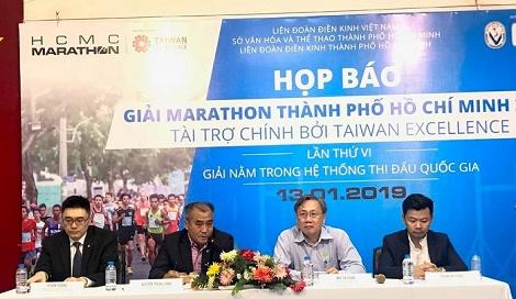 Hơn 9.000 vận động viên tranh tài giải Marathon TPHCM 2019