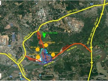 Nam Long đầu tư hơn 2.300 tỉ đồng vào dự án Dong Nai Waterfront City