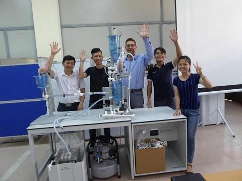 Lần đầu tiên Việt Nam dự thi tay nghề thế giới thoát nước và xử lý nước thải