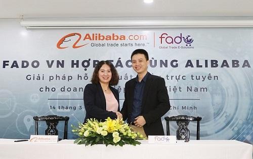 Fado Việt Nam hợp tác với Alibaba phát triển thương mại điện tử