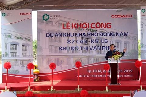 TP.HCM: Khu đô thị Vạn Phúc đồng loạt triển khai các công trình nhà ở và tiện ích liên quan