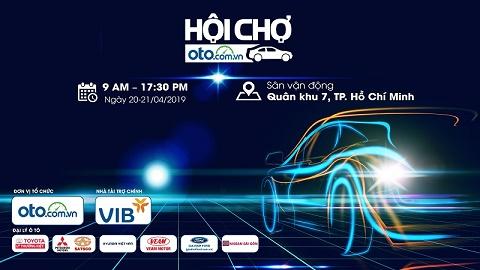 TP.HCM: Sắp diễn ra hội chợ ô tô lớn nhất  từ trước đến nay